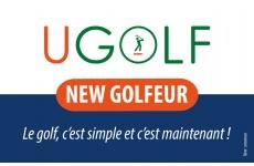 NEW GOLFEUR - <p><strong>Débuter le golf avec facilité et souplesse grâce aux cours illimités !</strong></p> <p></p> <p>Comment jouer?</p> <p>Résider dans l'un des départements : 75/77/78/91/92/93/94/95/60</p> <p></p> <p>La carte NEW GOLFEUR, valable 1 an de date à date</p> <p><strong>FORFAIT INDIVIDUEL :</strong></p> <p>299€ + 49€ sur 11 mois</p> <p></p> <p><strong>FORFAIT COUPLE :</strong></p> <p>349€ + 89€ sur 11 mois</p> <p></p> <p><strong>Contenu du forfait :</strong></p> <p>- cours collectifs illimités pendant 1 an</p> <p>- accès au parcours (après validation de votre pro)</p> <p>- 1 carte practice de 10 seaux</p> <p>- 1 première licence ffgolf</p> <p>- prêt du matériel</p> <p>- passage de la carte verte</p> <p>- animation de la communauté NEW GOLFEUR : compétitions de classement, dîners, stages/voyages...</p> <p></p> <p>Conditions:</p> <p>Ne pas avoir été abonné UGOLF dans les 12 derniers mois.</p> <p></p> <p><strong>Profitez de l'offre spéciale salon -30% sur l'adhésion !</strong></p>