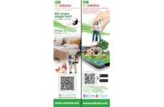 Signet - <p>On a présenté un neuf signet avec un attrayante conception et à travers lequel l'utilisateur des smartphones pourra accéder au site de Nekatur www.nekatur.net , ainsi que télecharger l'APP sur son portable.</p>