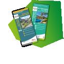 """Cartes Les Calanques et La Route des Grandes Alpes - <p>L'IGN vous propose de faire une halte dans des lieux d'exception avec la nouvelle édition de la carte des Calanques et la carte """"La Route des Grandes ALpes"""" dans la collection """"Découverte des chemins"""".</p>"""