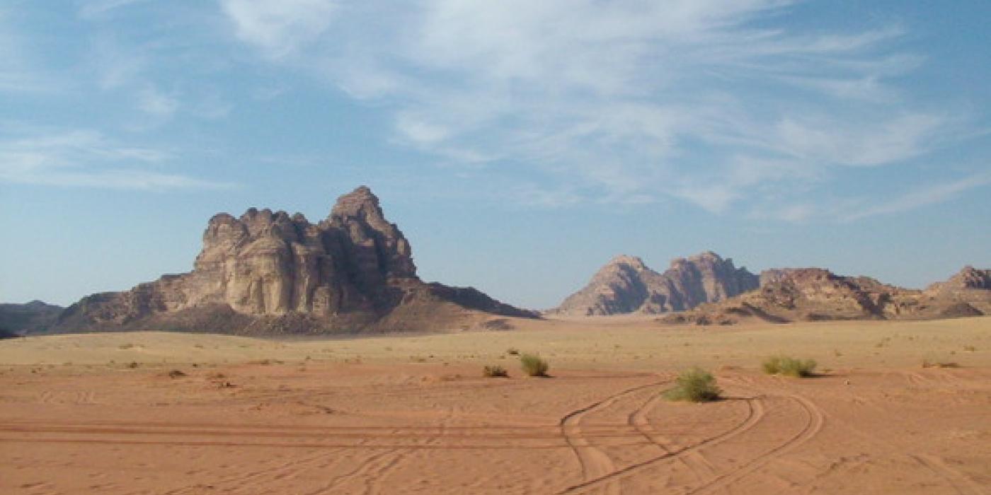 AFRIQUE-jordanie-paysage-desert