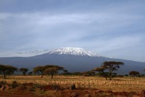Le Mont Kilimandjaro en Tanzanie