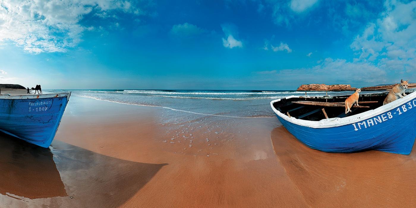 Maroc - plage-Agadir