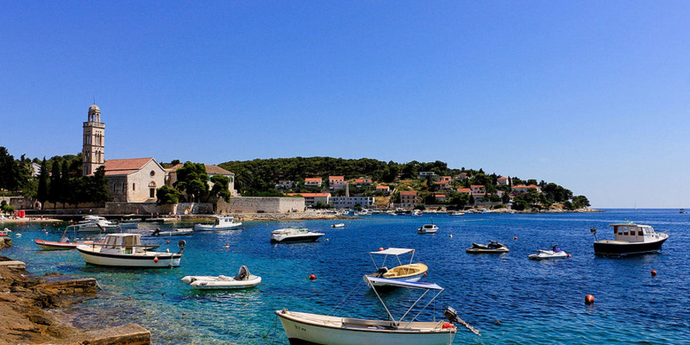 EUROPE-croatie-paysage-mer-bateau