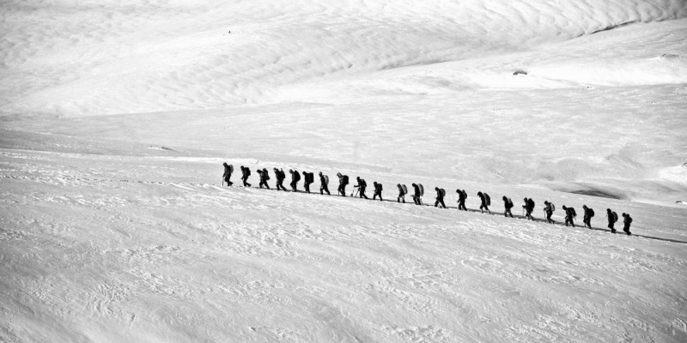 Randonner : trek en haute montagne